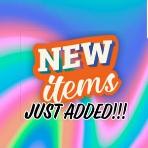 NEW LISTINGS JUST ADDED TO MY CLOSET